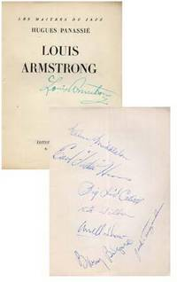 Louis Armstrong (1947) (Signed)