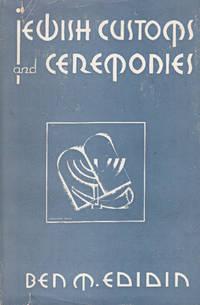 JEWISH CUSTOMS AND CEREMONIES