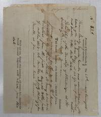 image of Court summons for John Cliff, Stanbridge Township, District of Montreal, 1825