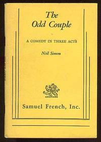 London: Samuel French, 1966. Softcover. Fine. First acting edition. Fine in lightly soiled, stapled ...