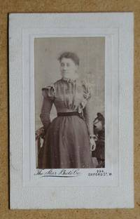 Carte De Visite Photograph: A Studio Portrait of a Woman.