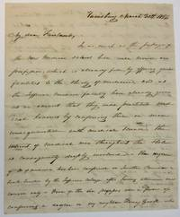 AUTOGRAPH LETTER SIGNED TO DR. FAIRLAMB, FROM WILLIAM HARRIS, A HARRISBURG PHYSICIAN, OPPOSING A BILL IN THE LEGISLATURE TO CREATE A NEW MEDICAL SCHOOL, WHICH WILL CAUSE THE CONFERRING OF MEDICAL DEGREES ON