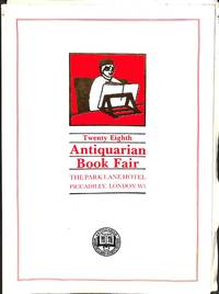 Twenty Eight Antiquarian Book fair/23-24-25 June 1988 Park Lane Hotel -  Piccadilly