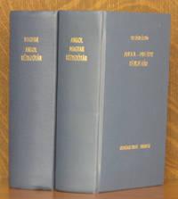 MAGYAR-ANGOL KEZISZOTAR, ANGOL-MAGYAR (2 VOL. SET - COMPLETE)