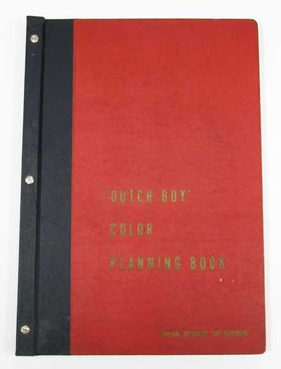 Book Cover Black Paint : Abaa dutch boy presents color schemes from america s