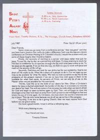 Saint Peter's Anlaby News & York Diocesan Leaflet - July 1987