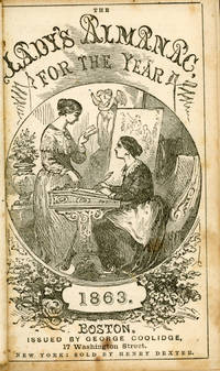 THE LADY'S ALMANAC FOR THE YEAR 1863