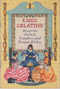 KNOX GELATINE Desserts, Salads, Candies and Frozen Dishes
