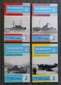 image of WARSHIPS OF WORLD WAR II.  PARTS 5-8.  PART 5: TOWING AND SALVAGE.  PART  6: TRAWLERS. PART  7: COASTAL FORCES.  PART 8: LANDING CRAFT.  4 VOLUMES IN TOTAL.