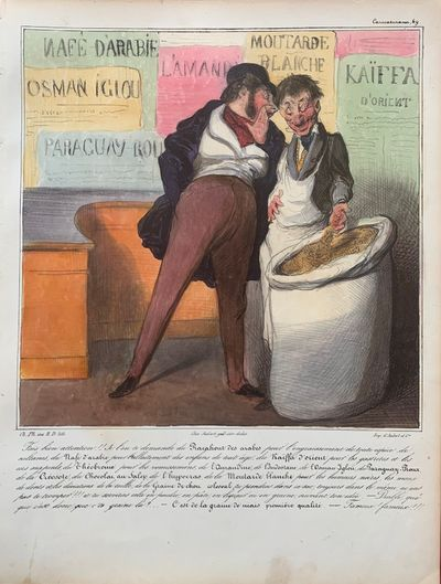 Paris: Chez Aubert, 1836. hardcover. Lithograph with original hand coloring. 10 x 13 1/4 inches. Pla...