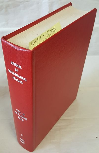 New York: American Institute of Physics, 1970. Hardcover. Quarto; G Hardcover; Red spine with White ...