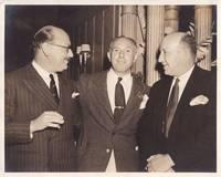 image of Original photograph of Jack Warner and J. Walton Brown, circa 1938