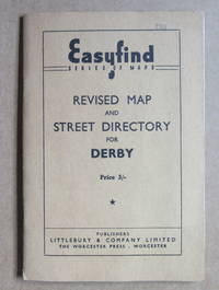 EASYFIND REVISED MAP AND STREET DIRECTOR OF DERBY - probably 1960s
