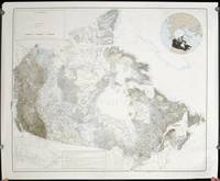 Landform Map of Canada.