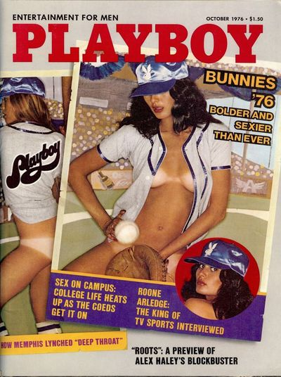 1976. HALEY, Alex. ROOTS: THE MIXING OF THE BLOOD-FROM THE BOOK. In Playboy magazine, October 1976. ...