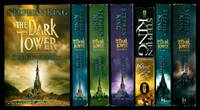 THE DARK TOWER: 1: The Gunslinger; 2: The Drawing of the Three; 3: The Waste Lands; 4: Wizard and Glass; 5: Wolves of the Calla; 6: Song of Susannah; 7: The Dark Tower