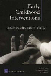 Early Childhood Interventions : Proven Results, Future Promise