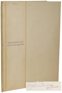 Salut au Monde! by  Walt Whitman - Hardcover - Limited. - 1930 - from B & B Rare Books, Ltd., ABAA and Biblio.com