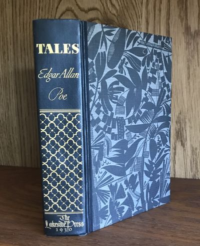 Chicago: Lakeside Press, 1930. Poe, Edgar Allan. TALES. Chicago: Lakeside Press, 1930. Illustrated b...
