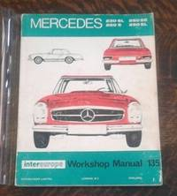 image of Mercedes Benz 1965-1968 the 250 Series and the 230 SL Intereurope Workshop  Manual 135