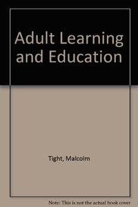 Adult Learning and Education: vol 1