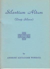 image of Silentium Altum (Deep Silence)