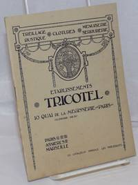 image of Etablissements Tricotel, Paris / Asnieres / Marseille; ce catalogue annule les precedents. Treillage Rustique, Clotures, Menuiserie Serrurerie