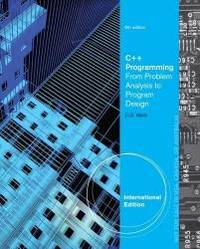 image of C++ Programming: From Problem Analysis to Program Design. D.S. Malik