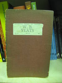 image of W. B. Yeats (Benn's Augustan Books of Poetry)