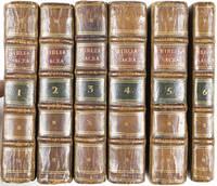Biblia Sacra Vulgatae Editionis, Sixti V. Pont. M. Jussu Recognita, et Clementis VIII. Auctoritate edita. Col: Agggripppinae. Sumpt. Bath. ab Egmont & Sociorum. 6-volume set (complete)