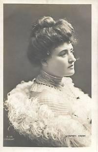 image of Edwardian Era Stage Actress, Miss Winifred EMERY on 1910s Era Real Photo Postcard (RPPC)