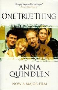 One True Thing by  Anna Quindlen - Paperback - 1999 - from Bookbarn International (SKU: 139703)