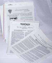 The Gay Buddhist Fraternity Newsletter: [34 issue broken run]