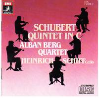 image of [String] Quintet in C Major, D.956 [COMPACT DISC]