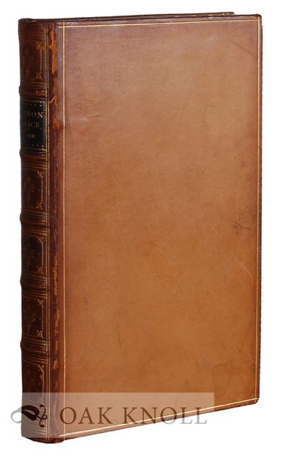London, England: W. Isbister & Co, 1874. contemporary full leather, covers and spine gilt-stamped, a...