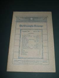 image of The Theosophic Messenger for November 1909