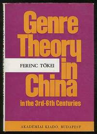 Genre Theory in China in the 3rd - 6th Centuries (Liu Hsieh's Theory on Poetic Genres)