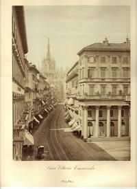 1870's Photo of the Corso Vittorio Emannuelle in Milan