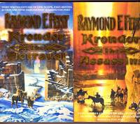 image of KRONDOR: 3 Volumes :TITLES - THE ASSASSINS,  BETRAYAL, TEAR OF THE GODS