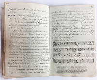 Musical Commonplace Book, 1830's England