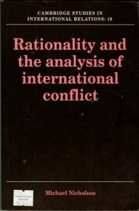 image of Rationality And The Analysis Of International Conflict