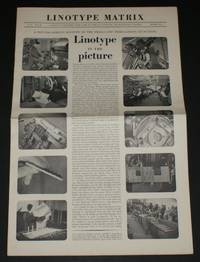"Linotype Matrix - Issue Number 12, Winter 1951-52. ""A Journal Published from Time to Time by Linotype and Machinery Limited"