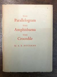 The Parallelogram, the Amphisbaena, The Crocodile