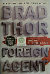 Foreign Agent by  Brad Thor - Signed First Edition - 2016 - from Charity Bookstall (SKU: 001507)