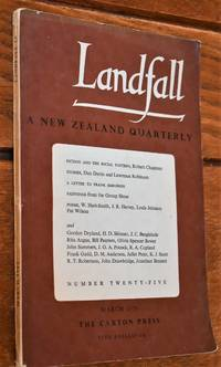 image of LANDFALL A New Zealand Quarterly - Volume Seven Number One (Number Twenty-Five) - March 1953