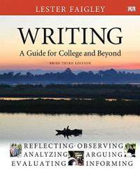 image of Writing: A Guide for College and Beyond, Brief Edition, with MyLab Writing -- Access Card Package (3rd Edition)