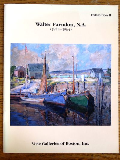 Boston, Massachusetts: Vose Galleries of Boston, Inc, 1992. Softbound. VG, Ex-library with some sun-...