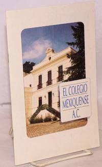 El Colegio Mexiquense, A. C.