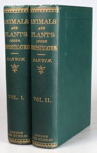 The Variation of Animals and Plants under Domestication by  Charles DARWIN - Hardcover - 1882. - from Bow Windows Bookshop and Biblio.com