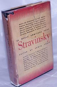 image of A Merle Armitage Book. Stravinsky.  Works of art by: Pablo Picasso.. Edward Weston.. Marc Chagall [et alia]. Articles by : Erik Satie.. Jean Cocteau.. Aaron Copland.. [et alis]